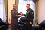 Ккомандно-штабные тренировки Кыргызстана и России в Балыкчи