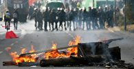 Беспорядки на улицах Франкфурта-на-Майне