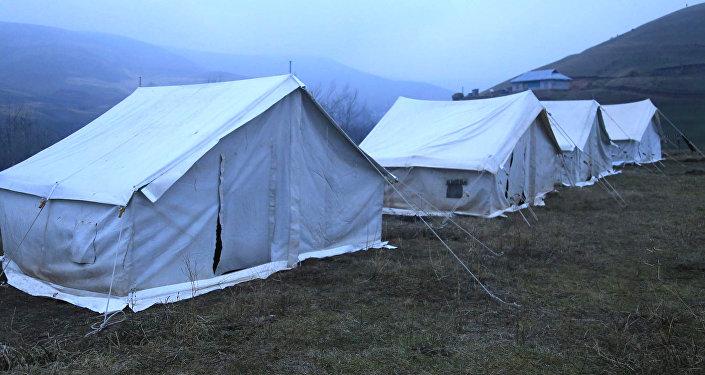 Зергер айыл аймагынын Ничке-Сай, Аюу, Заргер, Кайрат айылдарына 130 чатыр тигилди
