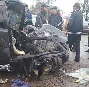 ДТП со смертельным исходом произошло примерно в 16.00 на трассе Бишкек — совхоз Ала-Тоо