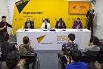 Пресс-конференция Иллюзионисты со всего мира впервые прилетели в Бишкек