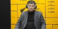Зергерлер жана ишкерлер союзунун президенти Сталбек Акматов. Архивдик сүрөт