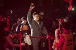 Кыргызстанский боец ММА в тяжелом весе Тилек Жээнбеков. Архивное фото