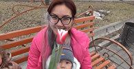 Как бишкекчанки реагируют на цветы от незнакомого мужчины — видео