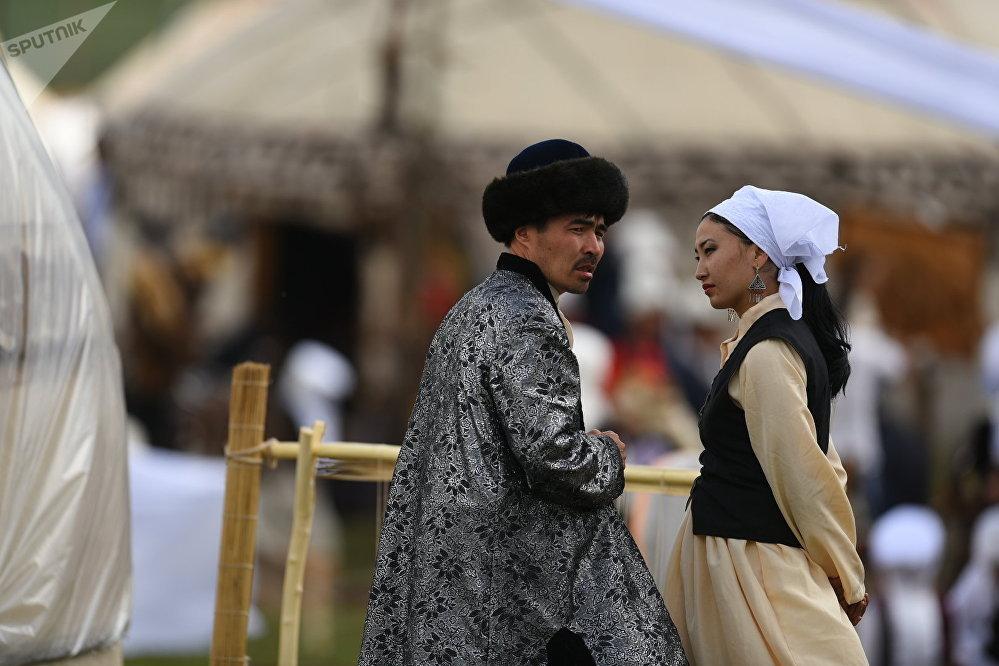 Культурные мероприятия в рамках ВИК на джайлоо Кырчын