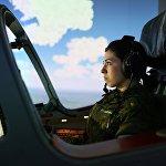 Подготовка девушек-курсантов в Краснодарском высшем военном авиационном училище