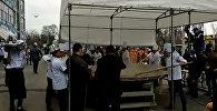 Как готовят тонну бешбармака и 110-метровый чучук в Бишкеке