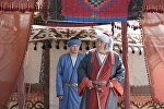 Народный артист Кыргызской Республики, актер Ашыр Чокубаев. Архивное фото