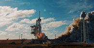Новое видео запуска ракеты Falcon Heavy с Tesla на борту опубликовал Маск