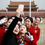Открытие сессии Национального народного конгресса Китая в Большом зале народных собраний в Пекине