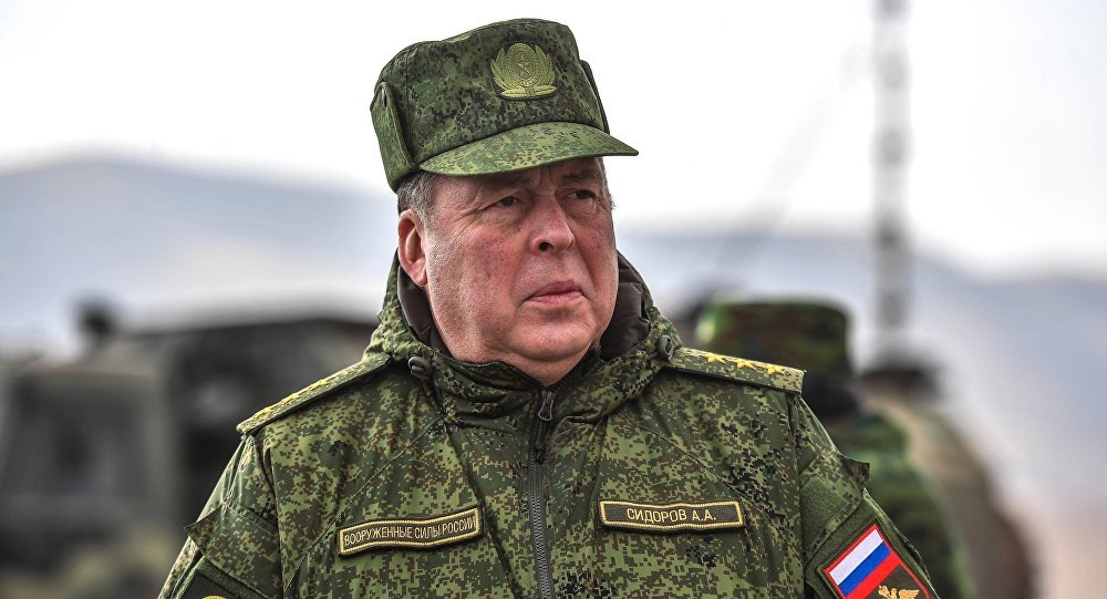 Начальник объединенного штаба ОДКБ Анатолий Сидоров. Архивное фото
