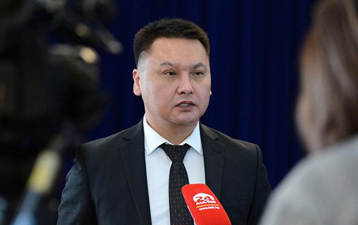 Секретарь Совета безопасности Кыргызстана Дамирбек Сагынбаев