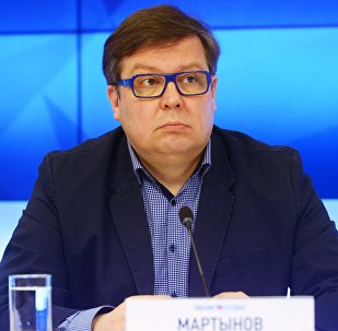Архивное фото директора Международного института новейших государств Алексея Мартынова