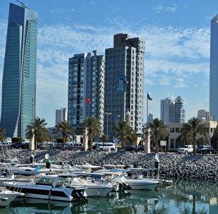 Вид на город Эль-Кувейт. Архивное фото