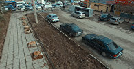 Таштандыдан эмес, бак-дарактан тазаланган Бишкек. Тыныстанов көчөсүнүн көрүнүшү
