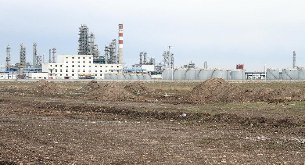 Китайская нефтеперерабатывающая компания Чайна Петроль Компани Жунда. Архивное фото