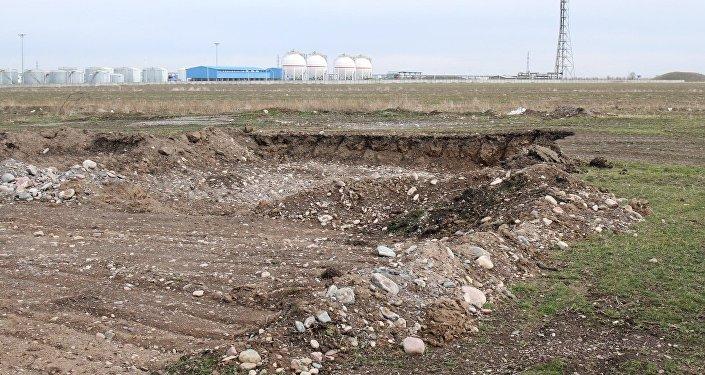Разрушение курганного могильника Кара-Балта (VI-III)
