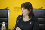 Ассистент руководителя ОФ Единство Лилия Постникова. Архивное фото
