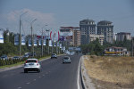 Улица Аалы Токомбаева в Бишкеке