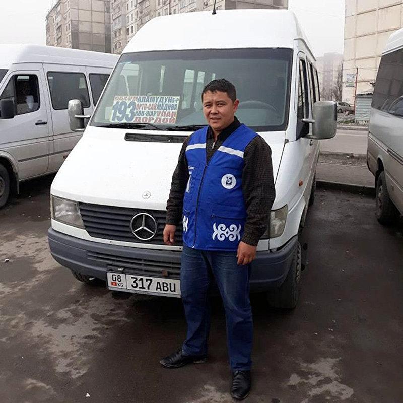 Единая форма для водителей бишкекских маршруток