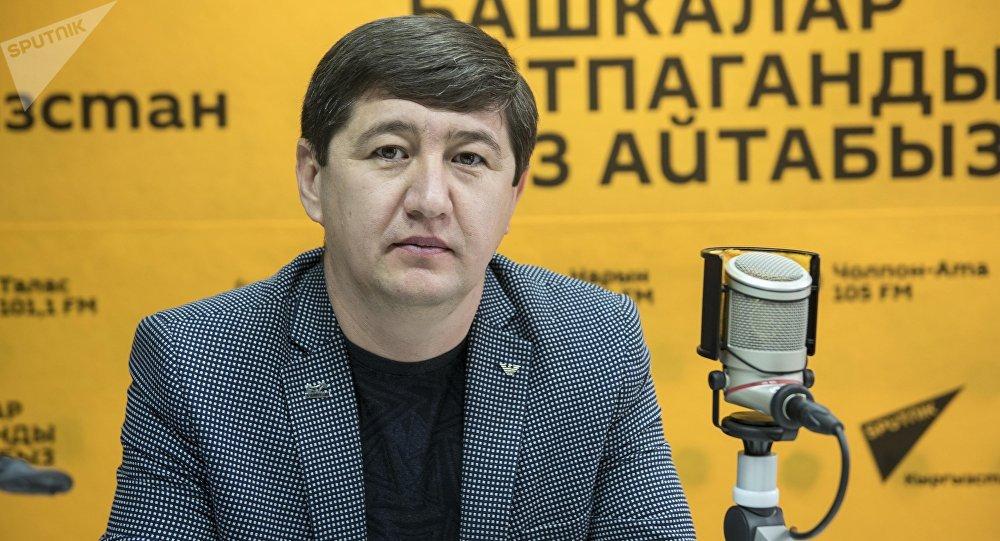 Таяк тартыш Масрестлинг федерациясынын президенти Искендер Алымбеков