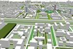 Как может измениться центр Бишкека: 3D-эскиз