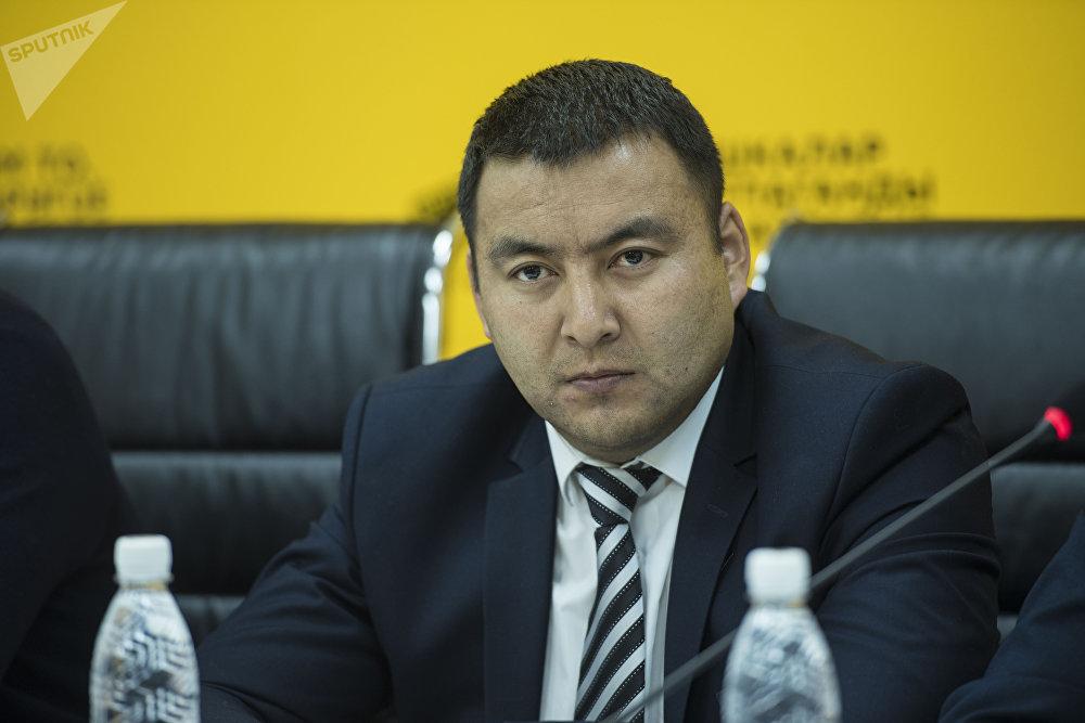 Заместитель председателя Бишкекского городского кенеша Эмил Сыдыков