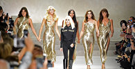 Италиялык белгилүү Versace мода үйүнүн ээси Донателла Версаче. Архив