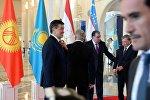 Лидеры стран Центральной Азии во время встречи в Астане