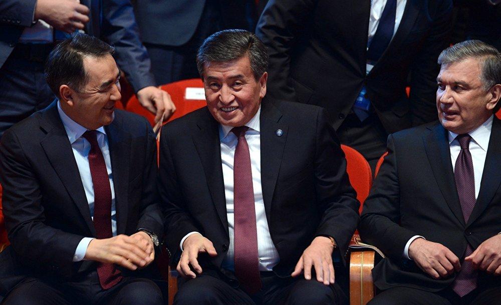Саммит глав государств Центральной Азии в Астане