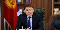Архивное фото премьер-министра КР Сапара Исакова
