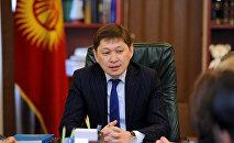 Осужденный бывший премьер-министр КР Сапар Исаков. Архивное фото