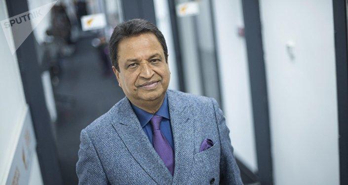 Крупный инвестор из Непала, миллиардер Бинод Чаудхари в студии Sputnik Кыргызстан