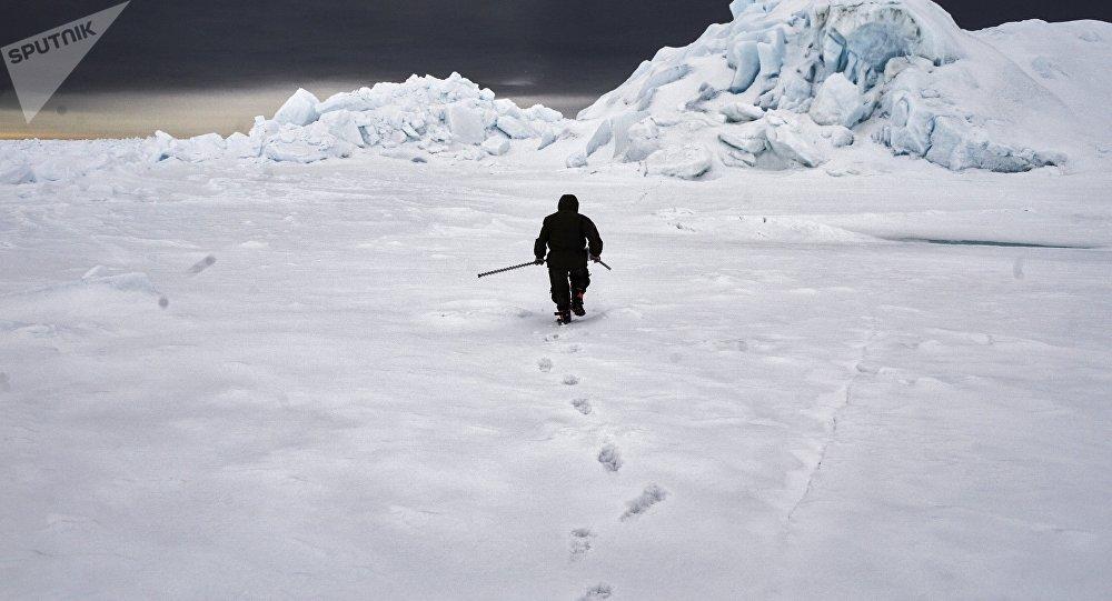 Антарктида. Архивдик сүрөт