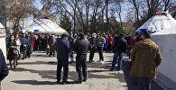 Митинг-реквием, посвященный памяти жертв Аксыйских и Апрельских событий 2002-го и 2010 годов