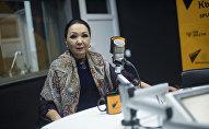 Народная артистка Кыргызстана Саламат Садыкова