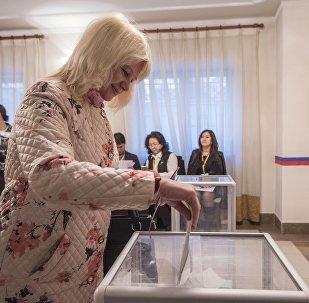 Выборы президента России в Бишкеке
