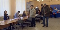 Открытие избирательных участков для выборов президента РФ