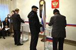 Россиянын президентин шайлоо Бишкекте кандай өтүп жатат. Видео