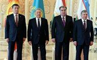 Лидеры стран государств Центральной Азии. Архивное фото