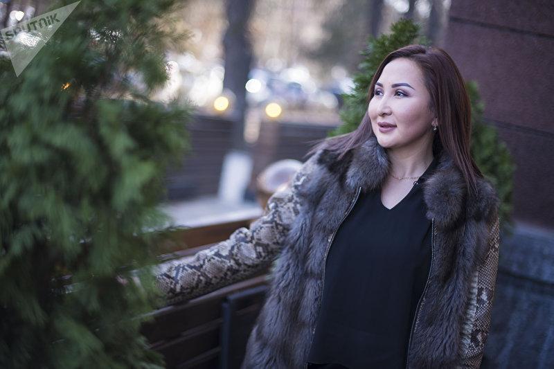 Бизнесвумен Фатима Жумабаева, открывшая четыре магазина духов в Бишкеке