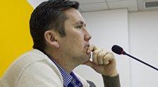 Психолог и инструктор по личной безопасности Ильдар Акбутин во время интервью Sputnik Кыргызстан
