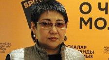Зампред Жогорку Кенеша Кыргызской Республики Асель Кодуранова