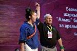Баяман Эркинбаевдин элесине арналган алыш боюнча эл аралык турнирде кыргызстандык балбандар 18 медалга ээ болду.