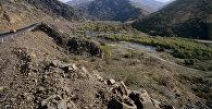 Дорога в горах. Архивное фото