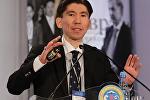Казахстанский политолог Досым Сатпаев. Архивное фото