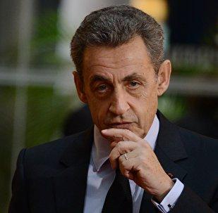 Францияда өлкөнүн экс-президенти Николя Саркозинин архивдик сүрөтү