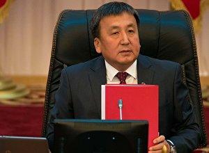Экс-спикер Жогорку Кенеша Асылбек Жээнбеков. Архивное фото