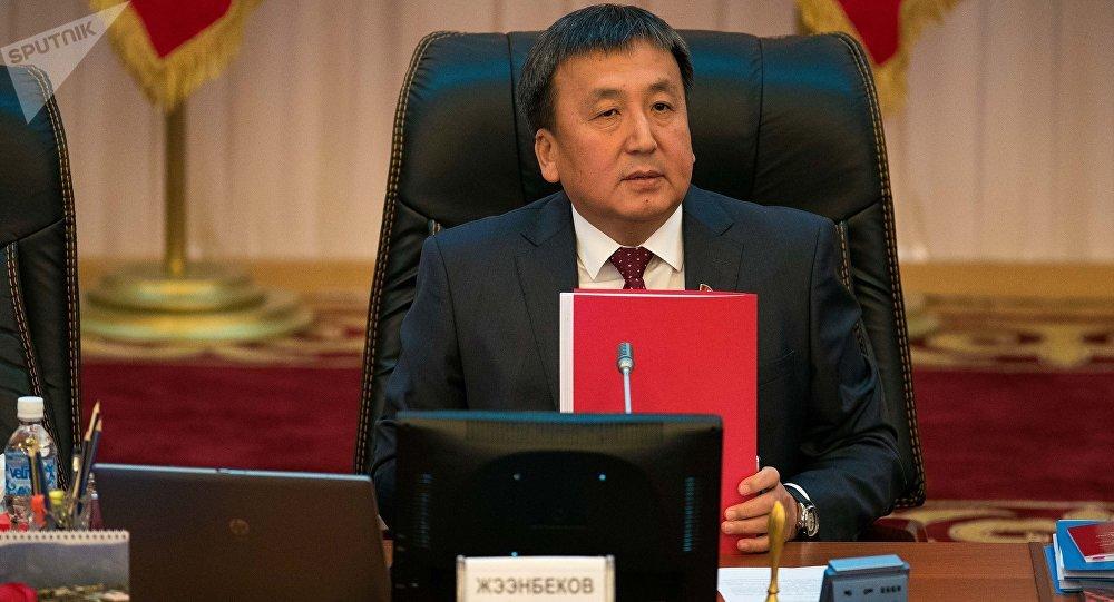 Депутат ЖК КР Асылбек Жээнбеков. Архивное фото
