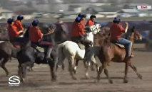 Конноспортивные игры на ипподроме в Бишкеке — прямой эфир